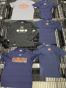 Auburn Tigers Team Issued Player Issued Under Armour Large T-Shirt You Get All 6
