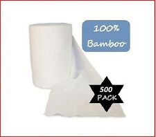 500 Bamboo Flushable Nappy Liners - Baby Wipes - Organic Biodegradable Insert