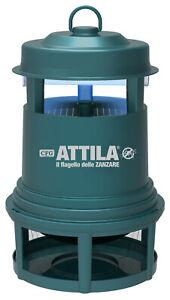CATTURA ZANZARE ATTILA CFG H041 ZANZA TRAP H033 + 2 LAMPADE DA ESTERNO PAPPATACI