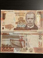 Malawi 500 Kwacha UNC Banknote Rare World Banknotes