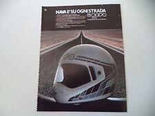 advertising Pubblicità 1984 CASCO HELMET NAVA INTEGRAL 3
