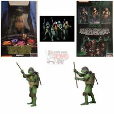 """DONATELLO TMNT Teenage Mutant Ninja Turtles 1990  NECA 1/4 2018 18"""" FIGURE"""