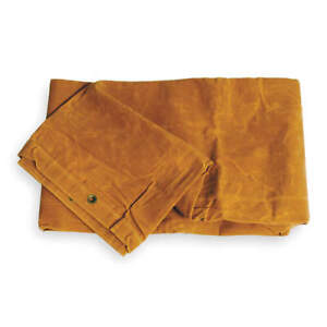 GRAINGER APPROVED 1A586 Tarp,Canvas,Tan,10x12Ft