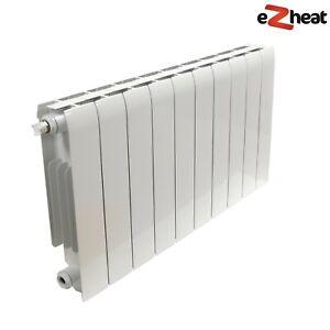 Aluminium Central Heating Radiators Wall Mounted High Output Modern Designer