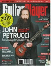 Guitar Player January 2020 John Petrucci The Future of Shred