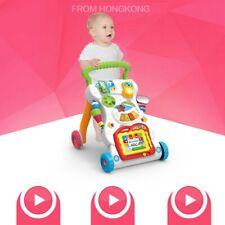 Lauflernhilfe Gehfrei laufen lernen Musik Baby Walker Lauflernwagen Kinderwagen