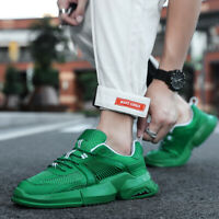 Men's Fashion Retro Street Breathable Sneakers Running Soft Sport Athletic Shoes