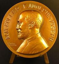 Medaille à Charles Collier Frère Adolphe-Joseph sc Ch Breton c1940 Rouen medal