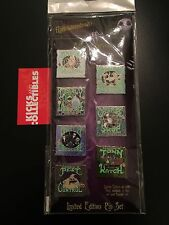 NIGHTMARE BEFORE CHRISTMAS Ads Services Disney DLR Haunted Mansion 7 PINS NBC LE