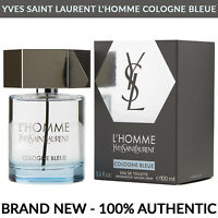 Yves Saint Laurent L'Homme Cologne Bleue for Men Spray 3.3 oz / 100ml YSL SEALED