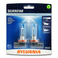 Sylvania SilverStar Low Beam Headlight Bulb for Toyota 4Runner Prius V Land fp