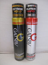 Gatsby Set and Keep Hair Spray Extreme Hold & Super Hard  250ml x 2 (Set of 2)