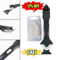 3 in1 Silicone Sealant Remover Tool Kit Set Scraper Caulking Mould Removal New