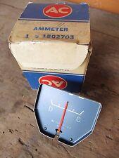 NOS 1963 1964 Pontiac Bonneville Ammeter Gauge  GM Part # 1502703