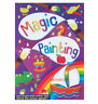A4 MAGIC PAINTING COLOURING BOOK FOR GIRLS CHILDREN NO MESS JUST USE WATER