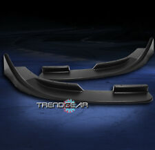 FRONT BUMPER LIP SPLITTER BLACK A5 A8 S6 TT QUATTRO BEETLE GOLF GTI JETTA PASSAT