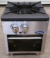 "New 18"" Single Stock Pot Stove Gas Atosa Atsp-18-1 #4279 Commercial Range Nsf"