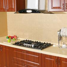 "Black Titanium Stainless Steel Cooktops 34"" 5 Burners Built-In Gas Hob Cooktops"