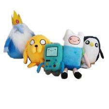 5PCS Adventure Time Finn Jake BMO Beemo Ice King GUNTER Penguin Plush Toy Gifts