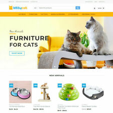 Cat Products Store Turnkey Dropshipping Business Website