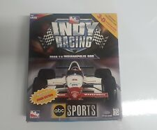 ABC Sports Indy Racing: Road to Indianapolis 500 (PC, 1997) CIB COMPLETE IN BOX