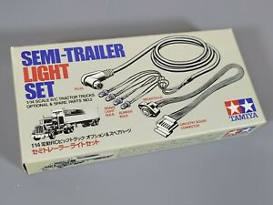 New Tamiya Semi-Trailer Light Set 1/14 R/C Car On Road Tractor Truck #56502