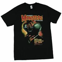 Famous Monsters of Filmland Mens T-Shirt - The Fly Image