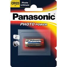 Baterías desechables Panasonic litio CR123A para TV y Home Audio