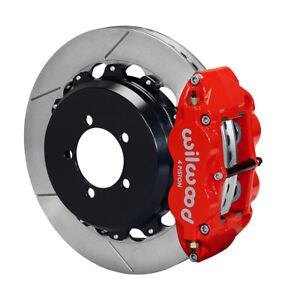 Wilwood Narrow Superlite 4R Rear Kit 12.88in Red For 12-20 Toyota / Scion FRS