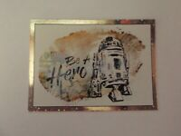 """Topps - The Rise of Skywalker """"R2-D2"""" #RB-6 Resistance Card"""