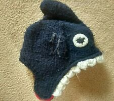 *JOULES* SHARK Woolly Winter Hat~ 4-7 Years