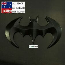 3D Black Chrome Metal Batman Badge Emblem Sticker Decal For Car Phone Bike