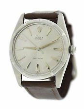Rolex Oyster Precision Stainless Steel Watch 6425
