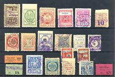 ITALY 19 x POSTER STAMP / LABEL /REVENUE / BACK OF BOOK -F/VF