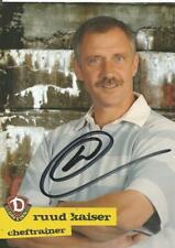 Meinhard Hemp Dynamo Dresden 2005//06 Autogrammkarte