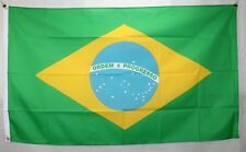 Big 1.5 Metre Federative Republic of Brazil Flag New Polyester Brasil