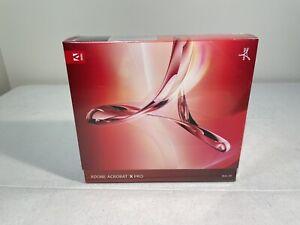 Sealed Adobe Acrobat X Pro Upgrade - Mac OS