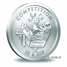 2014 Silver Shield - Competition Is A Sin - 1 oz Silver Round BU