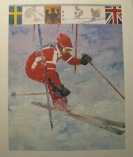 *1980 WINTER OLYMPICS OOP BART FORBES LARGE PRINT PORTFOLIO – LAKE PLACID, NY*