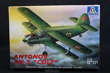 XX073 ITALERI 1/72 maquette avion 091 Antonov AN-2 Colt AN2 1997