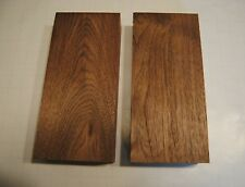 "2 PC Walnut Lumber Wood, Kiln Dried, Turning Blanks, Craft Pieces, 2"" Thick"