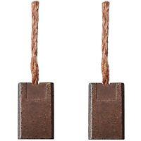 2x Balais de Charbon pour Hilti Visseuse SFC14-A / Sfc 14-A/3x8, 3x13mm