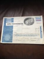 Rollins Int. Inc. Dated 1097 25 Shares INVALID SHARE CERTIFICATE