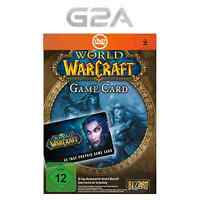 WoW Gamecard 60 Tage Spielzeit per Sofortversandt - World of Warcraft GTC