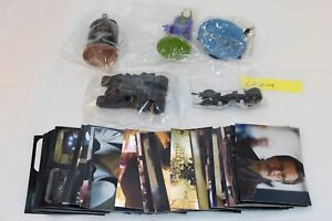 C2008 Batman The Dark Knight 40 Stickers & 5 figurines in Mint Condition Lot #04