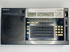 """Vtg Sony Icf-2010 Shortwave Radio Am Fm Ssb Cw Receiver Amateur Ham """"Powers Up�"""