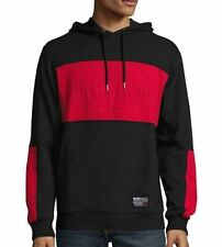 ECKO UNLTD Unrivaled Hoodie Hooded Sweatshirt Coat RED BLACK Hip Hop Rap NWT