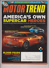 Motor Trend Ford Shelby GT500 Corvette Z06 Carbon August 2010 011820nonr
