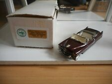 Zaugg 1955 Cadillac Convertible Serie 62 in Bordeaux Red on 1:43 in Box