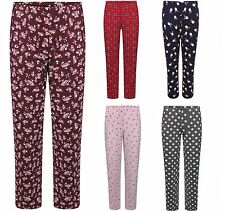 Ladies EX M&S Pyjama Bottoms Pants Loungewear Pyjamas 8 Colours Size 8-22 BNWOT!